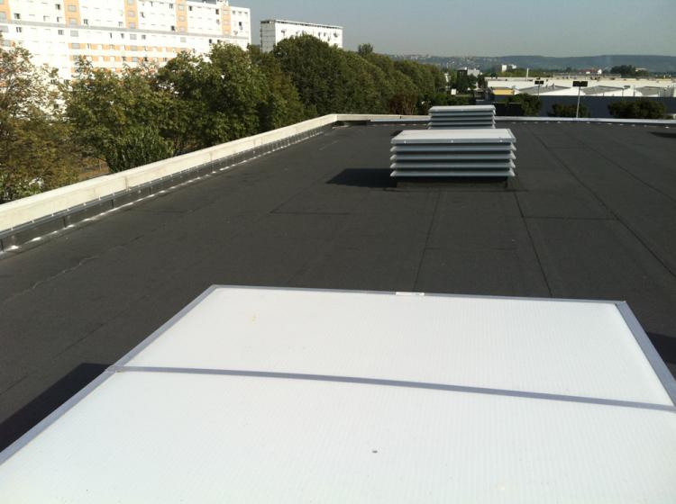 Etanch it toit isolation batiment auvergne puy de d me for Terrasse inaccessible